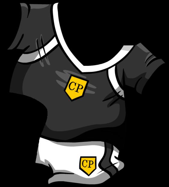 Black Soccer Jersey2
