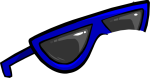 Blue Sunglasses6