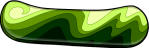 Green Snowboard
