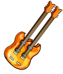 Orange Double Bass