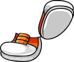 Orange Sneakers3