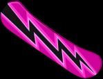 Pink Snowboard